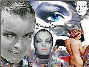 Romy Schneider by Chounie