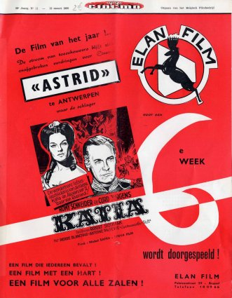 1960-03-12 - Weekblad Cinema - N° 11