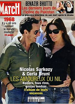 2008-01-03 - Paris Match - N° 3059