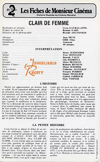 Clair femme - 2'