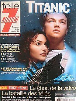 1998-10-03 - Télé 7 Jours - N° 2001