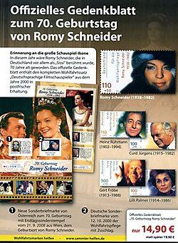 Timbres Romy Schneider'