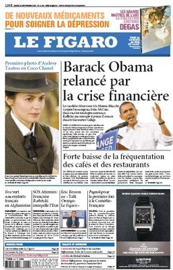 2008-09-23 - Le Figaro - N° 19952 - Cover