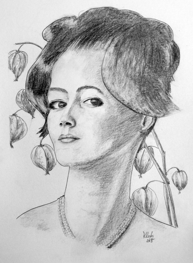 Romy Schneider portrait