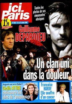 2008-10-21 - Ici Paris - N° 3303