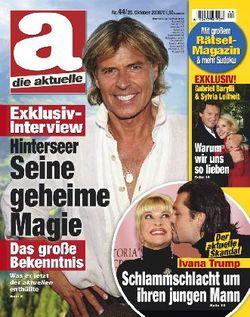2008-10-25 - Die Aktuelle - N° 44 - 1