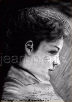 Romy Schneider by JPS 4