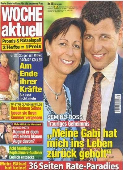 2008-10- 31 - Woche Aktuell - N° 45 cover