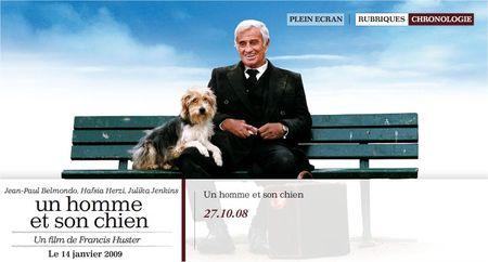 Un homme et son chien - site officiel