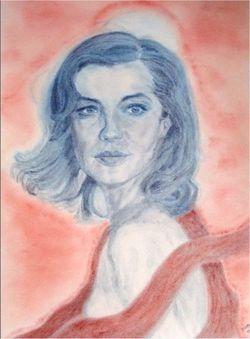 Romy Schneider by Helga