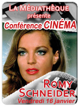 Romy Schneider - Conference cinema