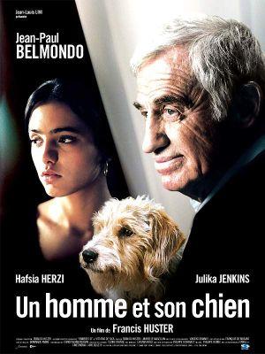 Affiche un homme et son chien