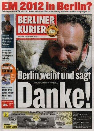 2008-09-24 - Berliner Kurier - N° 263