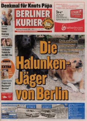 2008-09-25 - Berliner Kurier - N° 264
