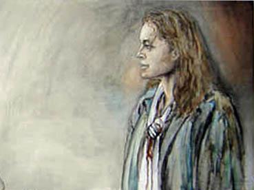 Romy Schneider by Christian De Leener