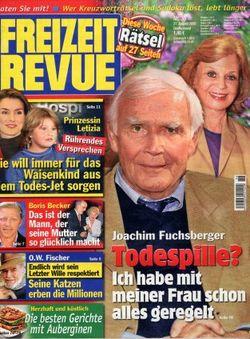 2008-08-27 - Freizeit Revue - N° 36