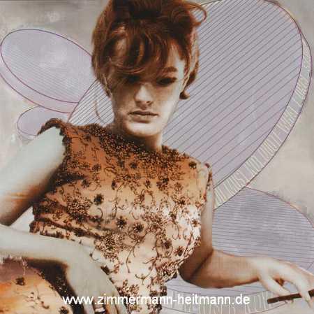Romy Schneider by Jörg Döring