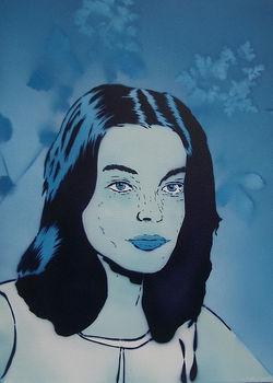Romy Schneider by José Lodewick 2