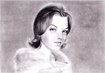 Romy Schneider by Manue