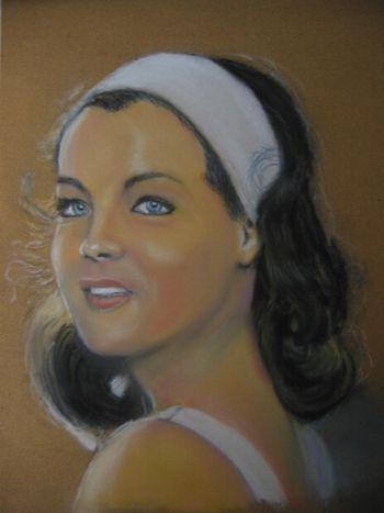 Romy Schneider by Lionel de Barros