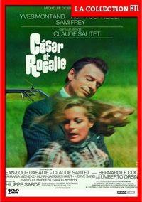 César et Rosalie avec Romy Schneider