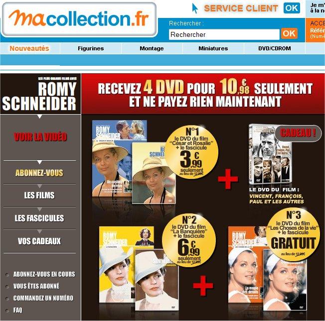 Collection DVD Romy Schneider