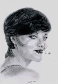Romy Schneider by Bea (05)