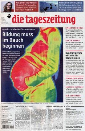 2008-09-23 - Die Tageszeitung - N° 8691