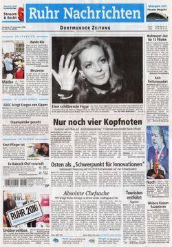 2008-09-23 - Ruhr Nachrichten - N° 223