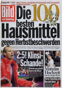 2008-09-21 - Bild am Sonntag - N° 38