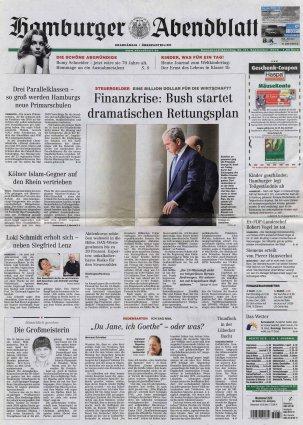 2008-09-20 - Hamburger Abendblatt- N° 222