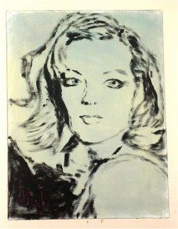 Romy Schneider by Joseph Sadzot
