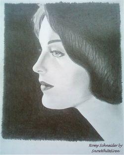 Romy Schneider by SnowWhiteSiren