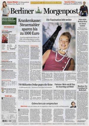 2008-09-21 - Berliner Morgenpost - N° 260