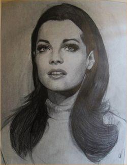 Romy Schneider by Evyna