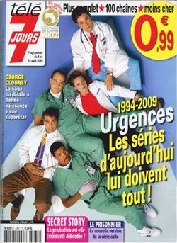 2009-08-04 - Télé 7 Jours - N° 2567 - 1