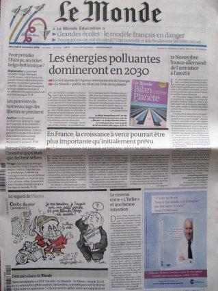 2009-11-11 - Le Monde - N°  20154