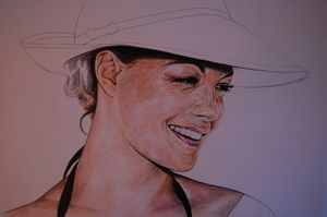 Romy Schneider by MaKo art