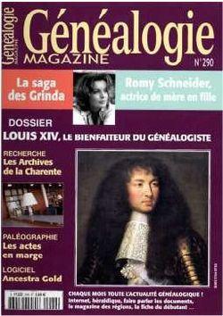 2009-12-00 - Généalogie - N° 290 - 1
