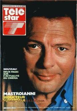 1981-09-19 - Télé Star - N ° 259 - ROMY SCHNEIDER LE SPECTACLE CONTINUE