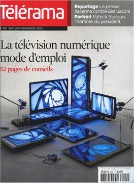 2009-11-04 - Télérama - N° 3121 - 1
