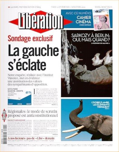 2009-11-10 - Libération - N° 1110 - 1