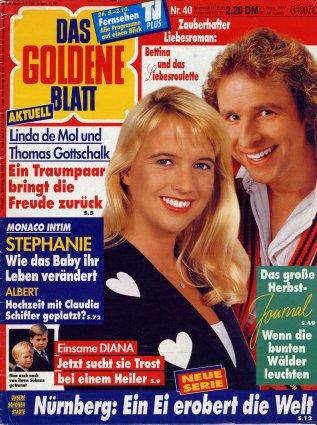 1992-09-23 - Das Goldene Blatt - N° 40