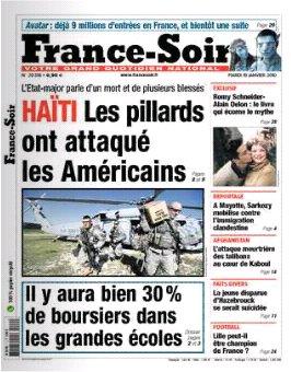 2010-01-19 - France Soir