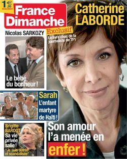 2009-01-28 - France Dimanche - N° 3308
