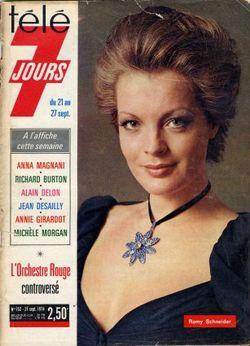 1974-09-21 - Télé 7 Jours - N° 752