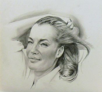 Romy Schneider by Akalinz