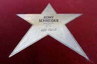Boulevard des stars Berlin - Romy Schneider