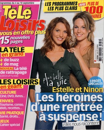 2010-09-04 - Télé Loisirs - n 1279