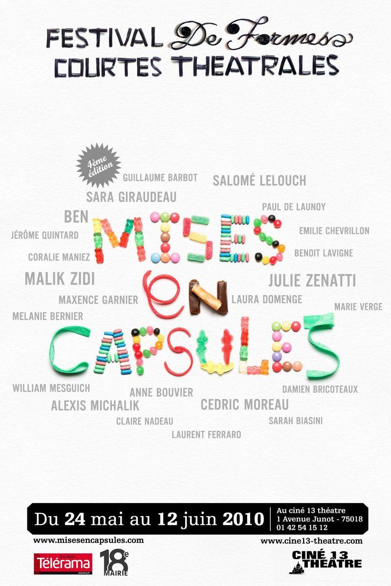 Mise en capsules 2010